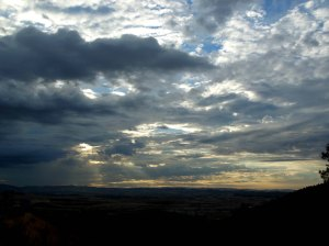 Gazing at Spain's amazing sky erases the brain