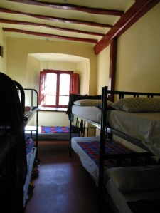 The basic, but very hospitable, albergue in Belorado