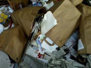 Dumped! Adios, old letters.