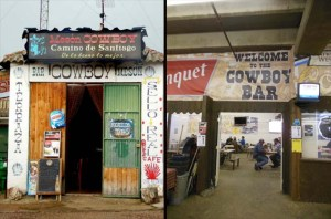 "Since I went to ""Meson Cowboy"" in Spain, why wouldn't I visit the ""Cowboy Bar"" in Denver?"