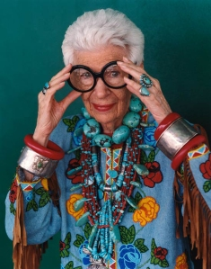 Maybe I'll work my way up to this pair by the time I'm 90. (portrait of Iris Apfel by Bruce Weber)