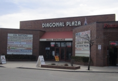 Diagonal Plaza