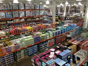 Perhaps Costco is most appealing from an aerial view.