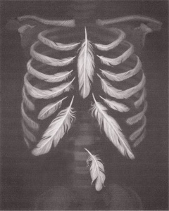 If your ribs felt like feathers, how lightly would you move?