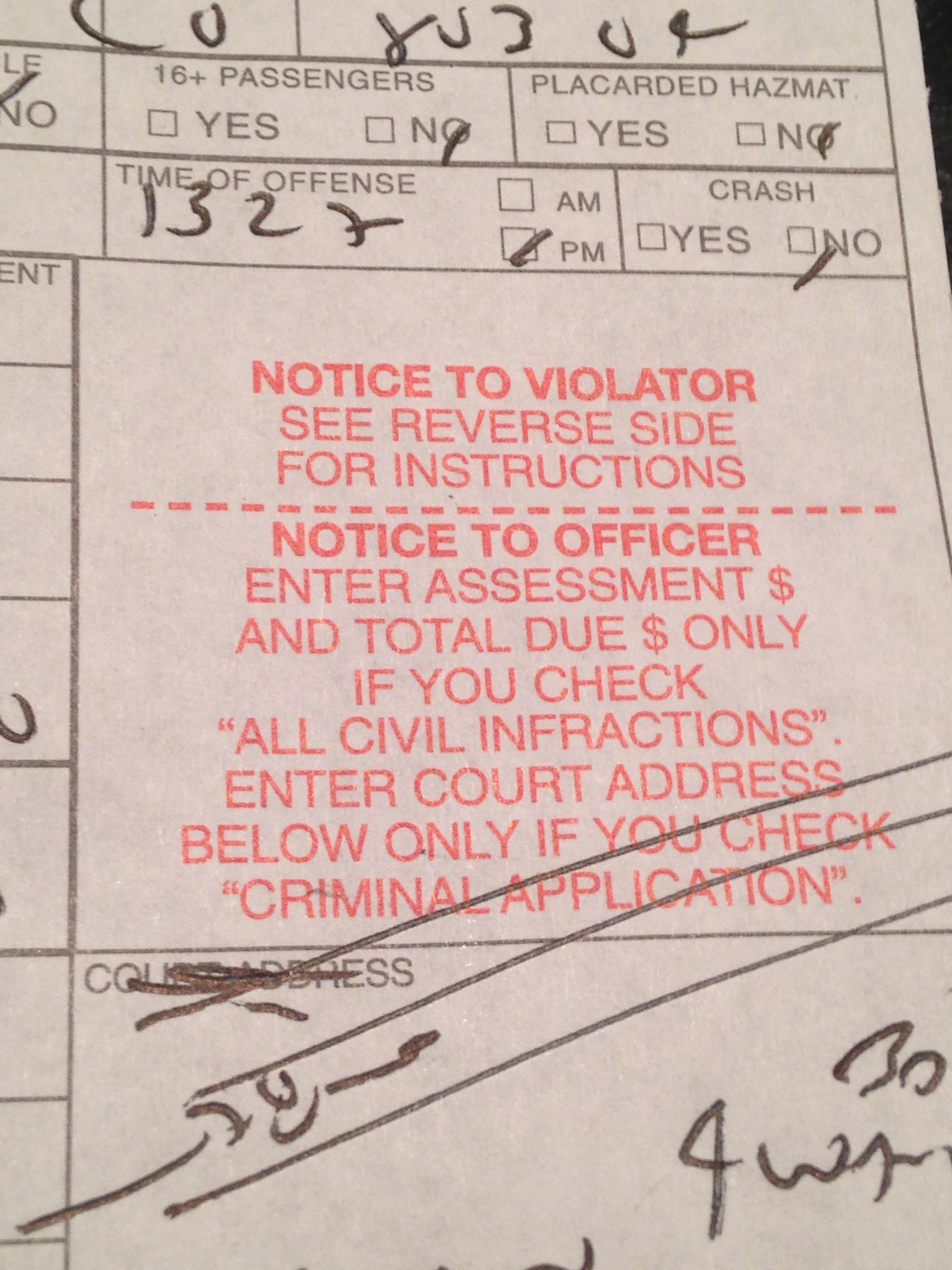 Speeding Ticket as Spiritual Teacher
